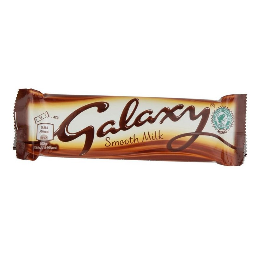Mars Galaxy Milk Chocolate - 24x42g standard bars