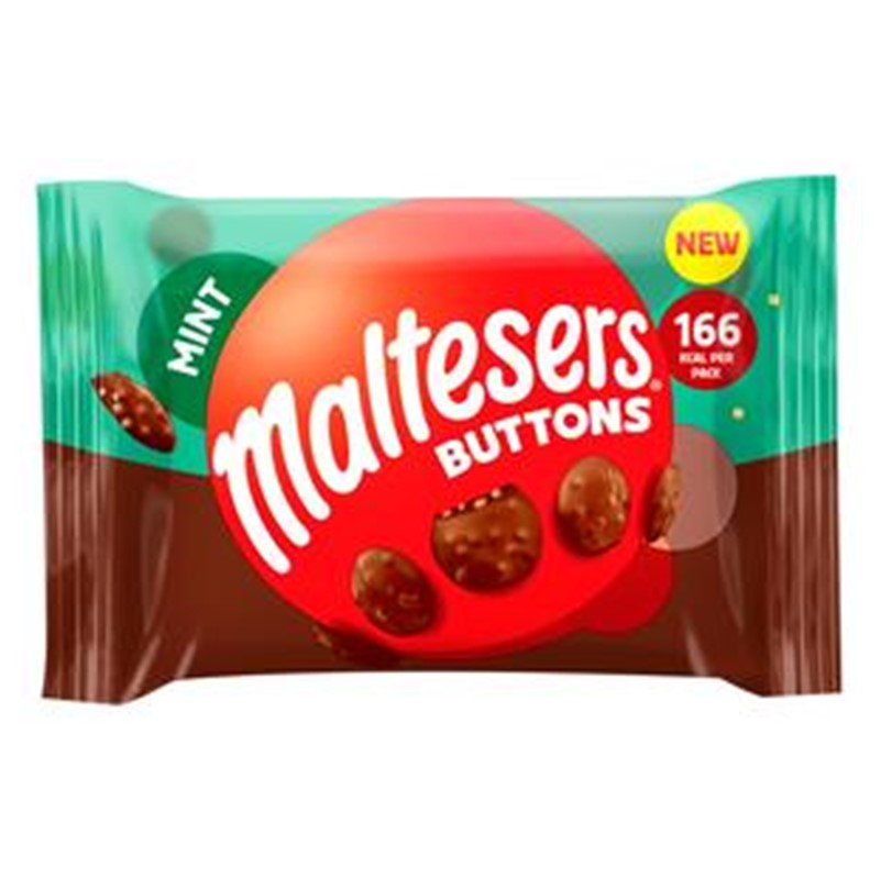 Mars Maltesers Mint Buttons - 36x32g packets
