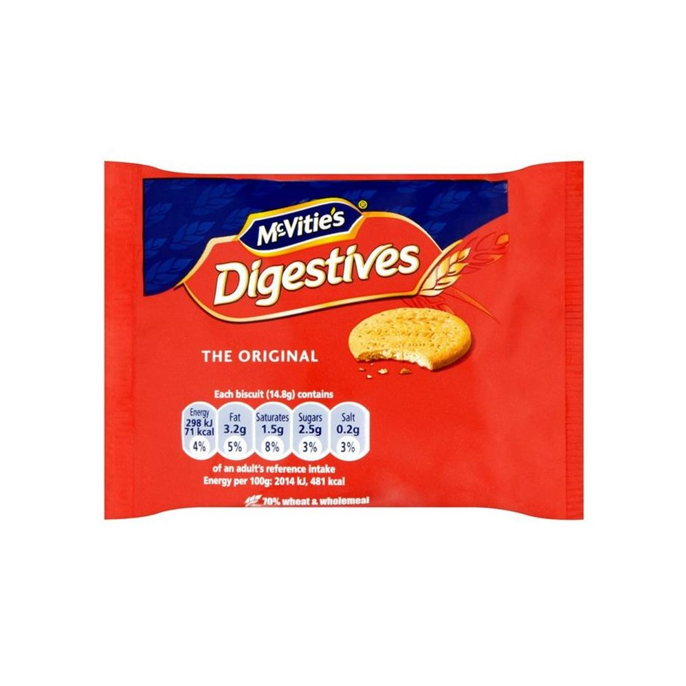 McVities Digestives - 48x2 wrapped biscuits