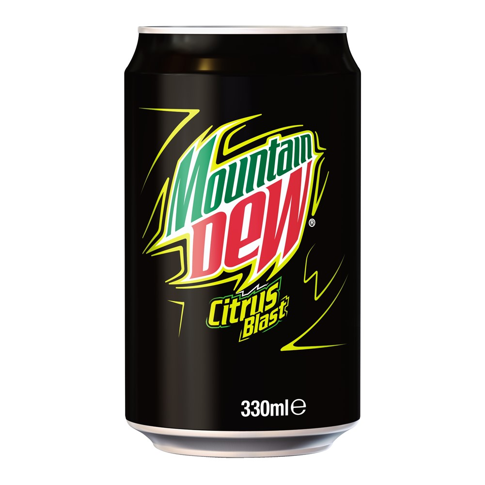 Mountain Dew Citrus Blast - 24x330ml cans