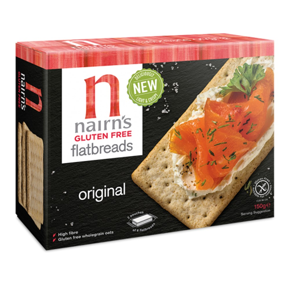 Nairn's Flat Bread Original - 150g box [GF]
