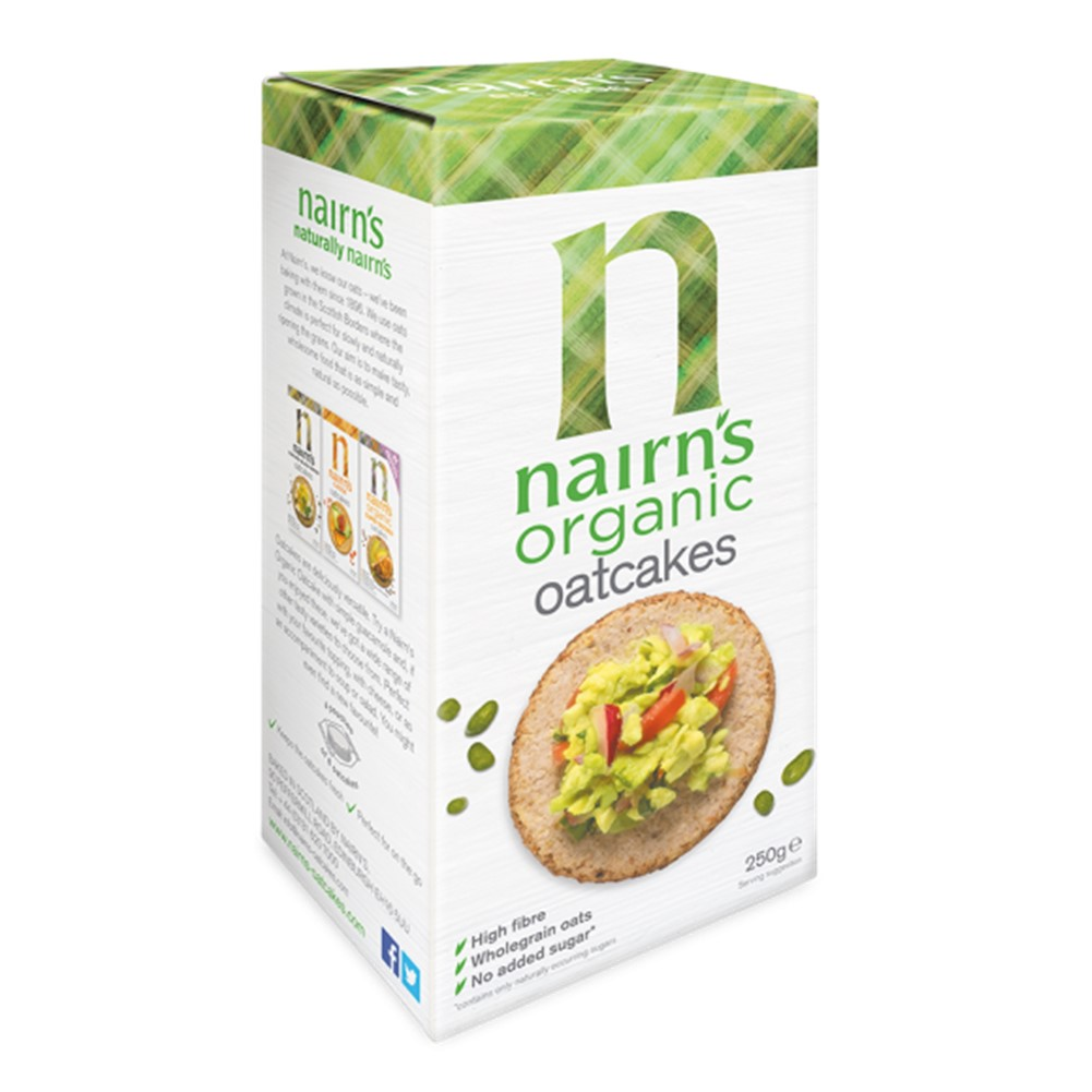Nairn's Oatcake Original - 250g packet [ORG]