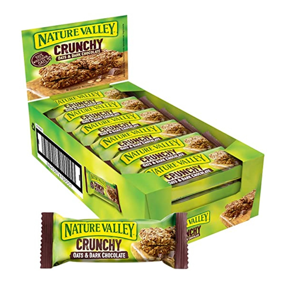 Nature Valley Crunchy Oat & Chocolate Cereal - 18x30g bars