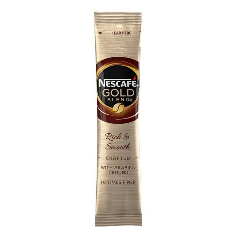 Nescafe Gold Blend Freeze Dried Instant Coffee - 200x1-cup sticks