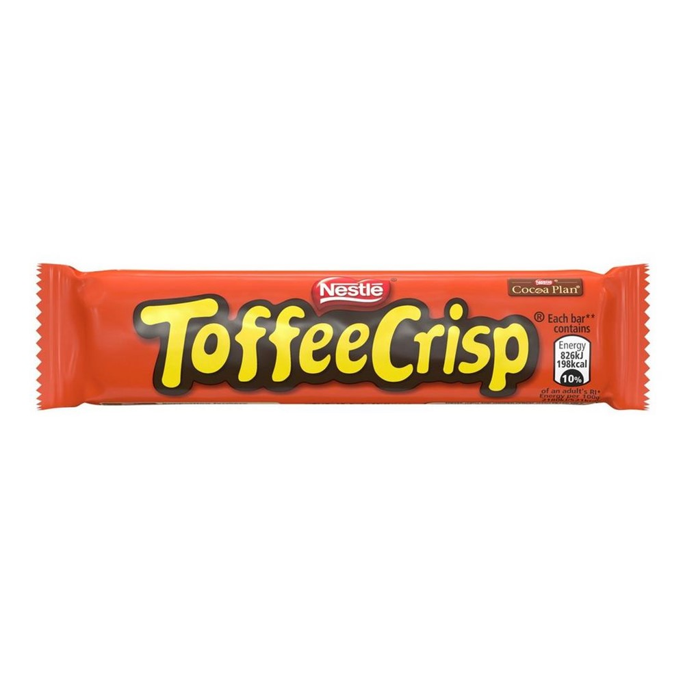 Nestle Toffee Crisp - 24x38g bars