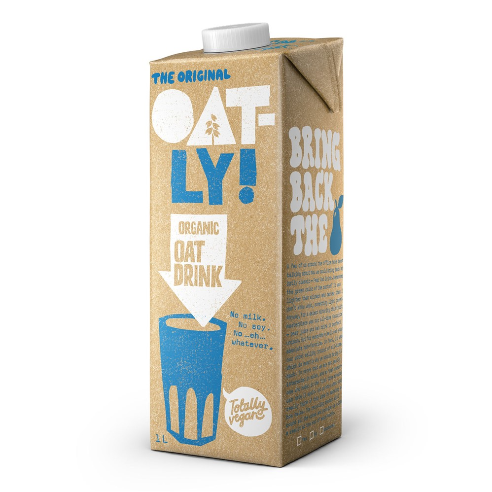Oatly Oat Drink [UHT Long Life] - 1L carton [ORG]
