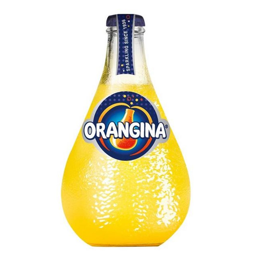 Orangina Regular - 12x250ml bulby glass bottles