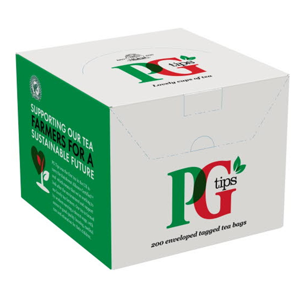PG Tips - 200 tea bags in envelopes [RFA]