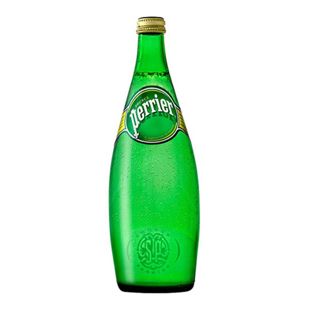 Perrier Sparkling Water - 12x750ml glass bottles