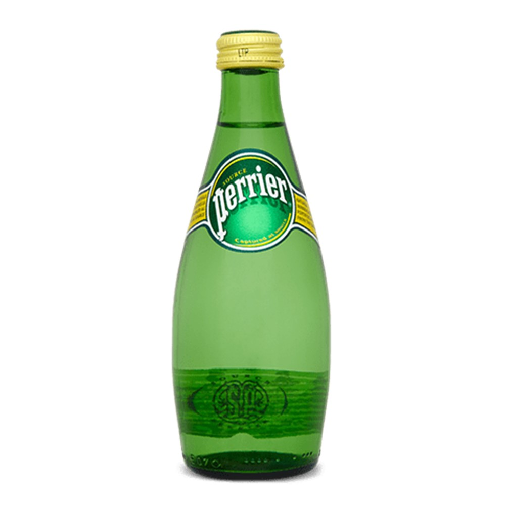 Perrier Sparkling Water - 24x330ml glass bottles
