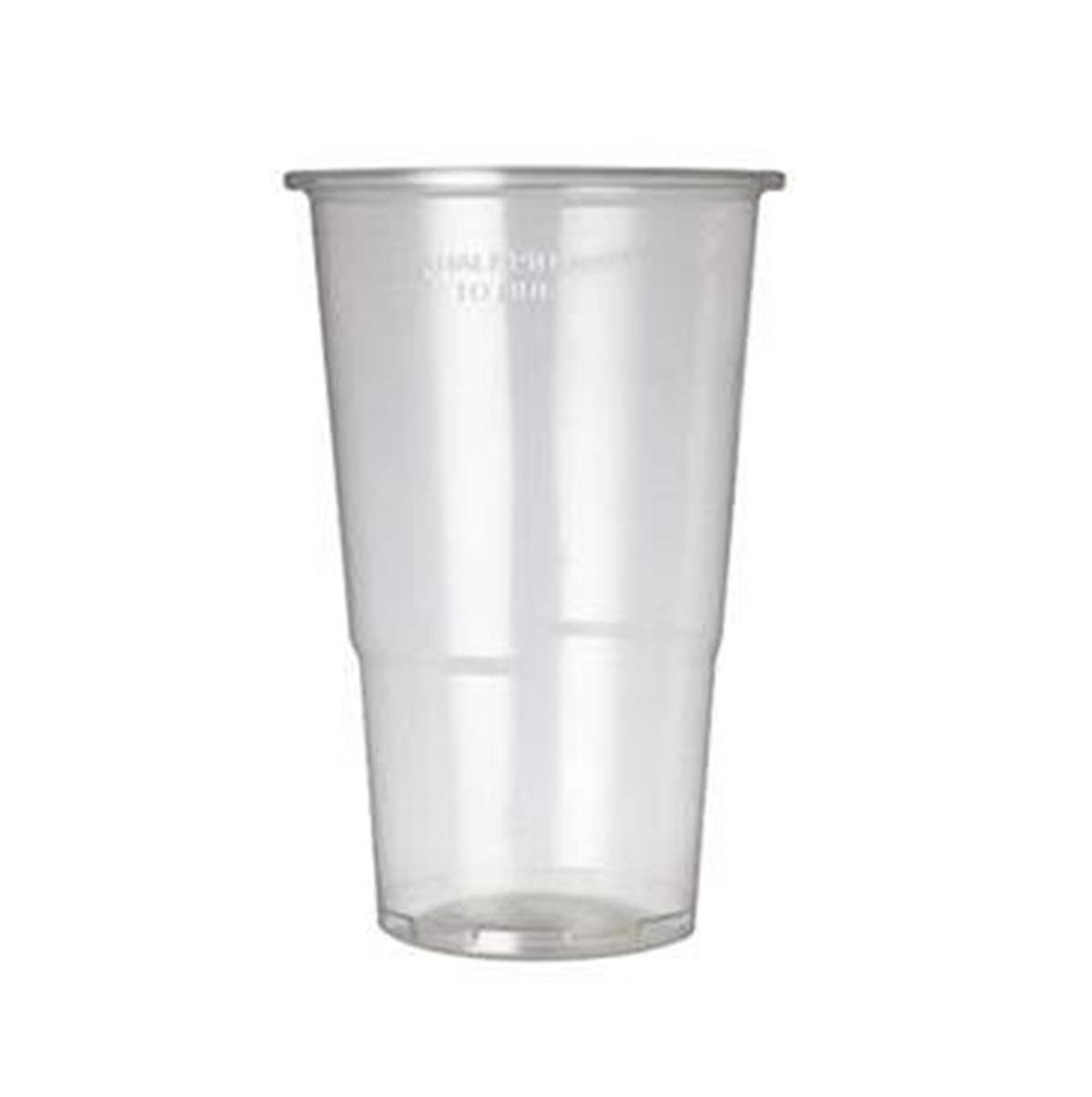 RY Caterpack Plastic Glass [clear] Pint - 25x57cl glasses