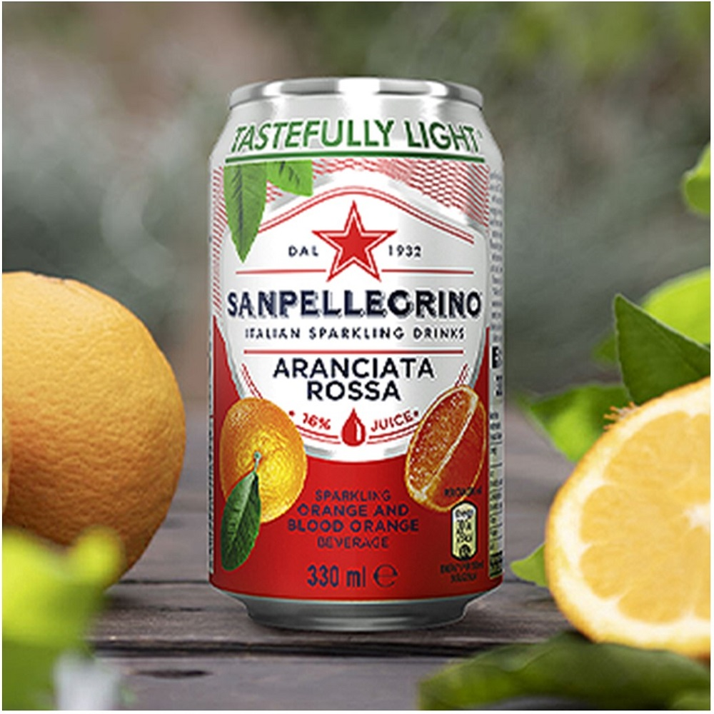 San Pellegrino Blood Orange - 24x330ml cans