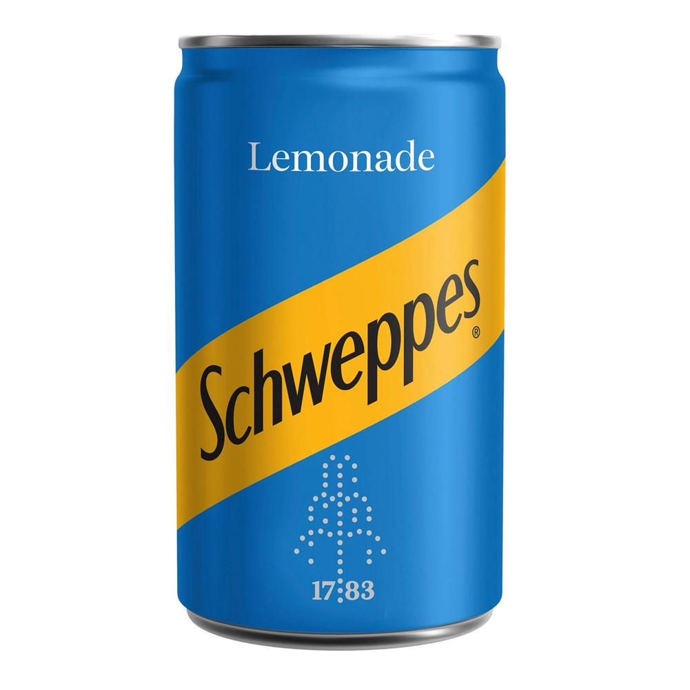 Schweppes Lemonade - 24x150ml BABY cans