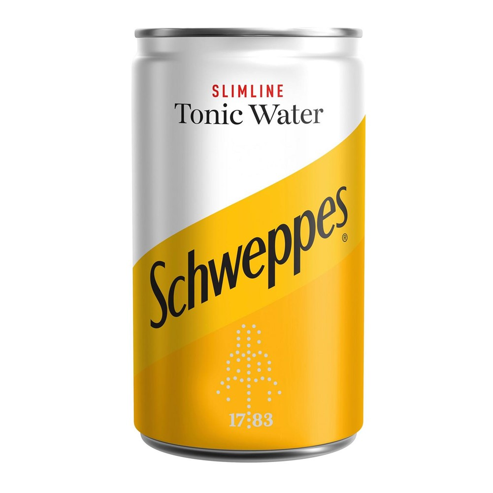 Schweppes Tonic SLIMLINE - 24x150ml BABY cans