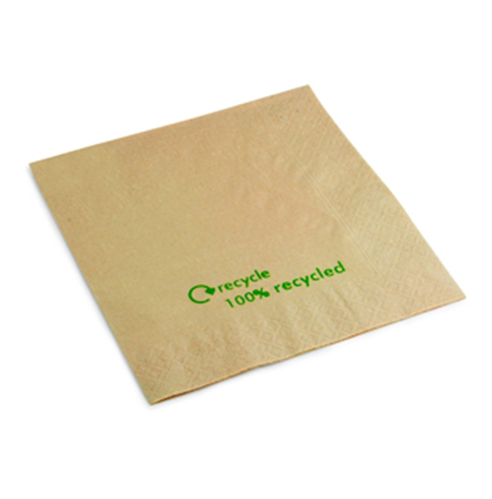 Swantex Napkins Recycled 33cm - packet 100x2 ply [ECO]