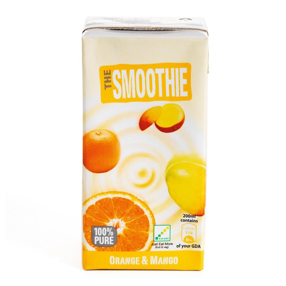 The Smoothie Orange & Mango Smoothie - 27x200ml cartons