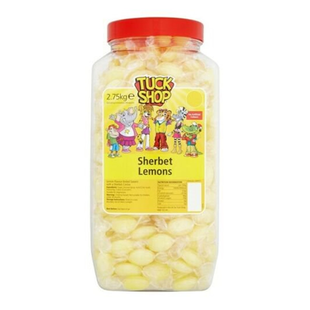 Tuck Shop Lemon Sherbets [Wrapped] - 2.75kg jar