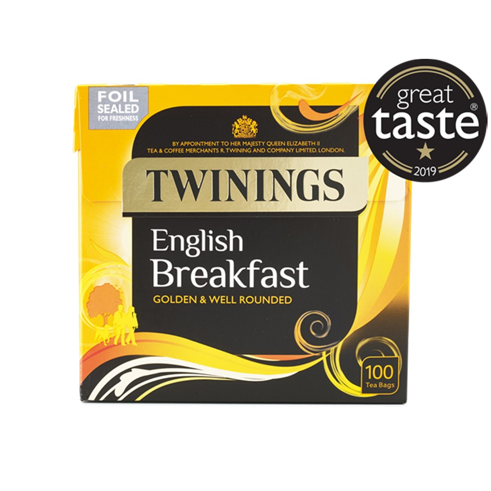 Twinings English Breakfast - 100 tea bags
