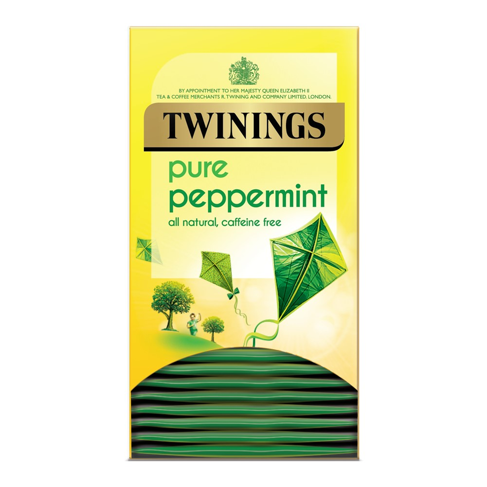 Twinings Peppermint - 20 tea bags in envelopes