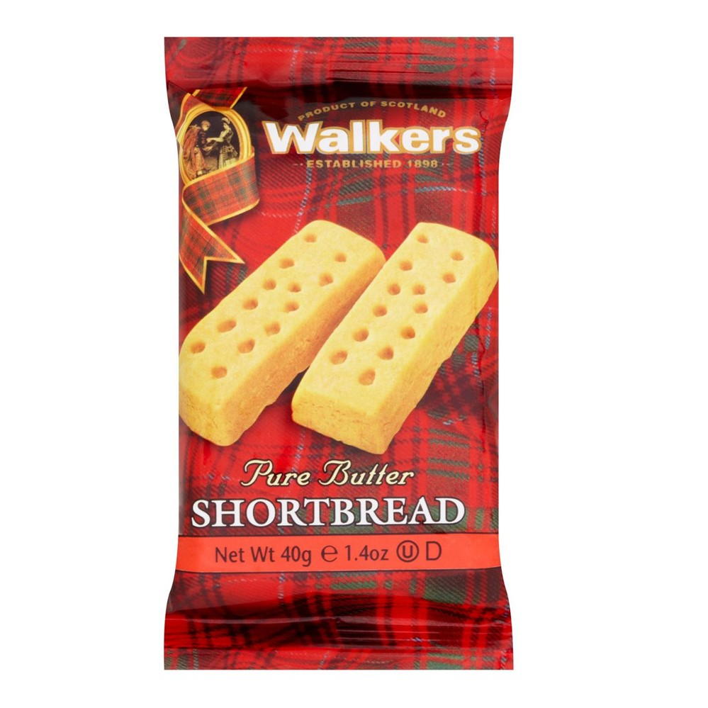 Walkers Shortbread Fingers - 120x2 wrapped biscuits