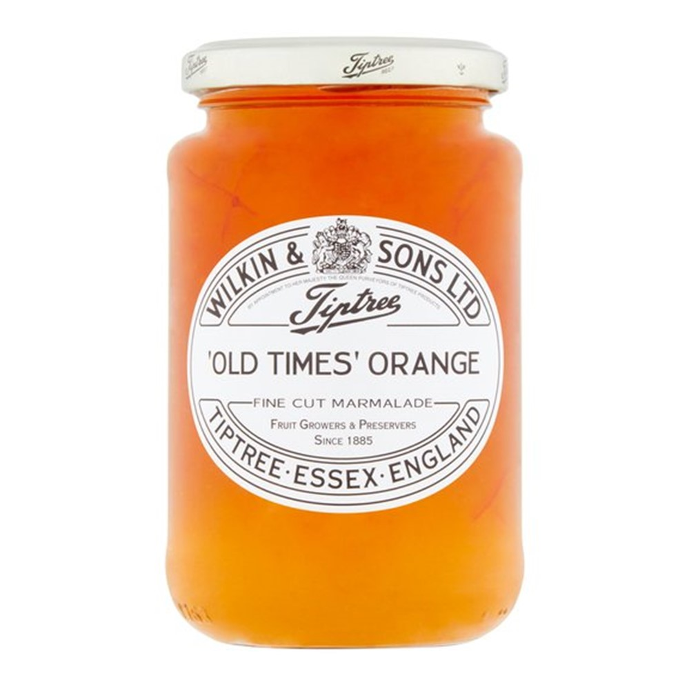 Wilkins Tiptree Marmalade Orange Fine Cut Old Time - 454g glass jar