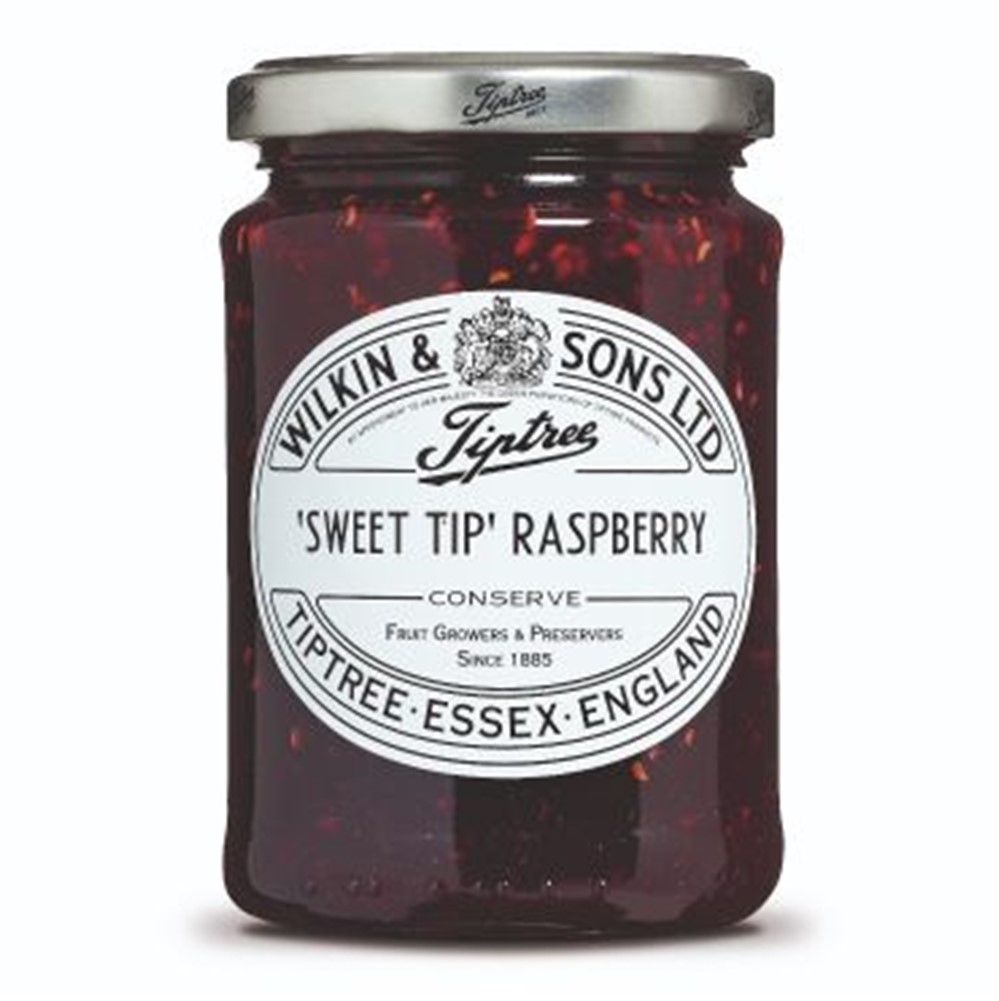 Wilkins Tiptree Raspberry Sweet Tip - 340g glass jar